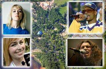 Frida Hyvönen, Sofia Talvik, Snoop Dogg och Slayer är några av artisterna som spelar på årets Hultsfredsfestival.