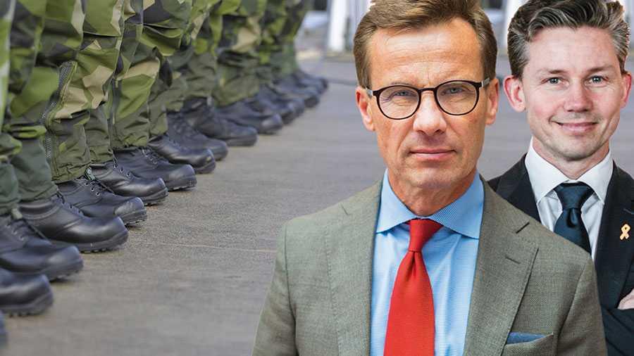 Nu föreslår Moderaterna fem åtgärder för att Sverige bättre ska kunna använda det militära och civila försvaret under coronakrisen, skriver Ulf Kristersson och Pål Jonson.
