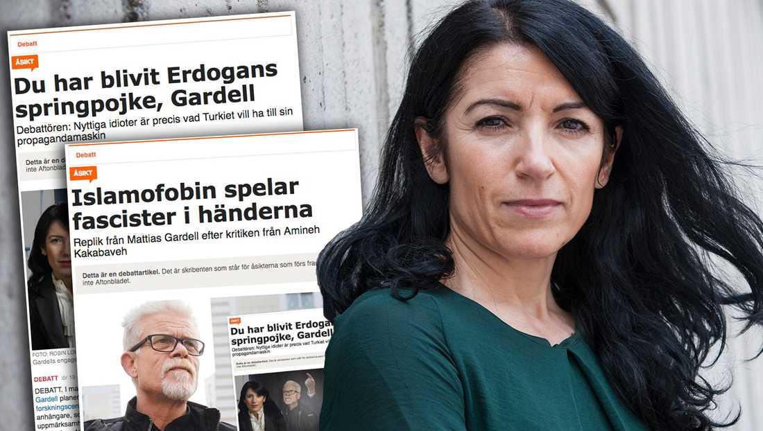Gardell borde visa att han menar allvar med sin kritik mot Erdogan, inte genom att skriva fler angrepp på mig utan genom att skänka ersättningen han fick för sin rapport till de förföljda kurdiska frihetskämparna i HDP och deras pågående valrörelse, skriver debattören i en slutreplik.