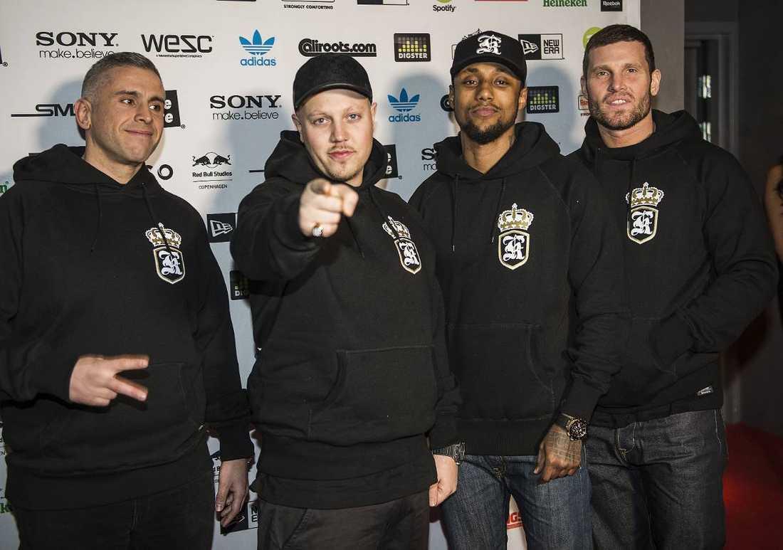 Hiphopgruppen Kartellen 2014