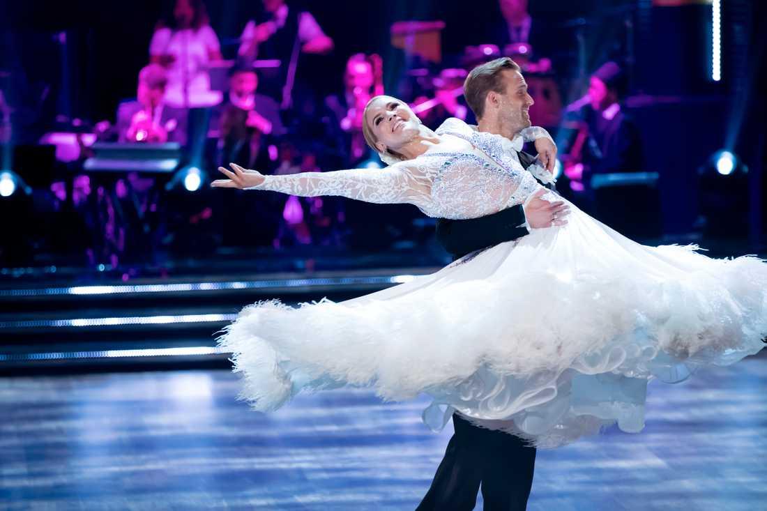 Anja Pärson i Let's Dance.