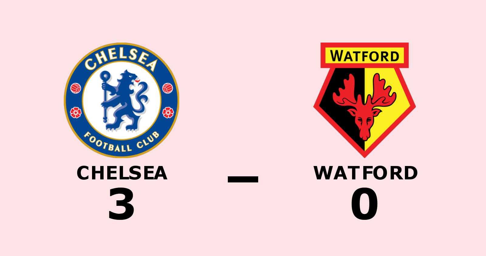 Chelsea segrade mot Watford på hemmaplan