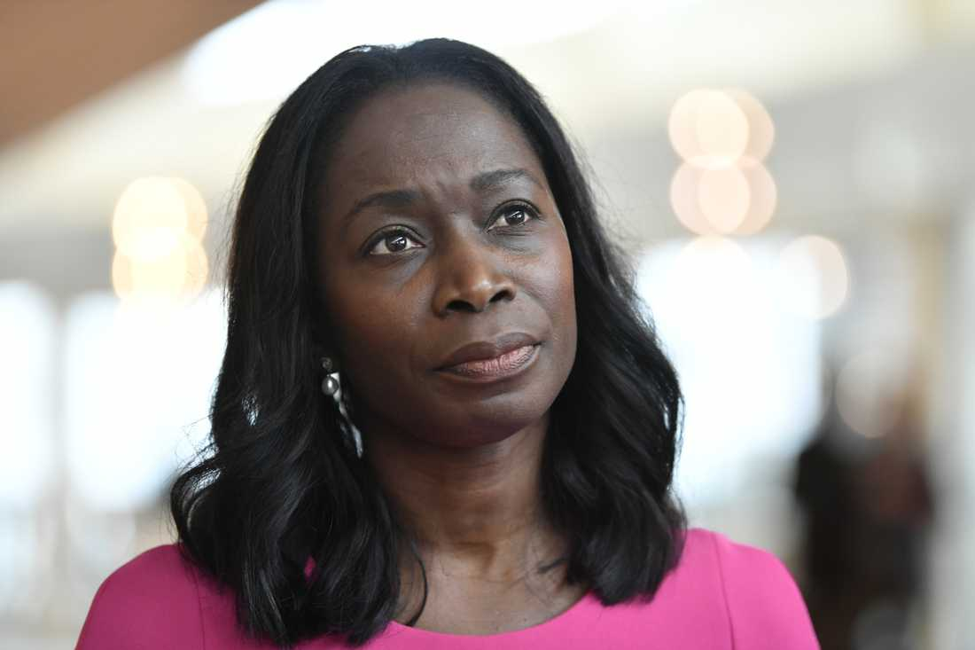 Liberalernas partiledare Nyamko Sabuni. Arkivbild.