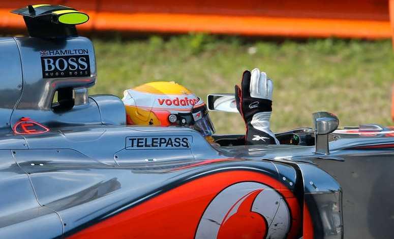 Lewis Hamilton tog hem Italiens GP.