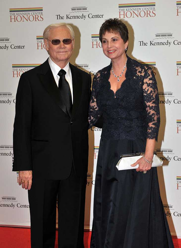 George Jones med sin fru Nancy Jones.