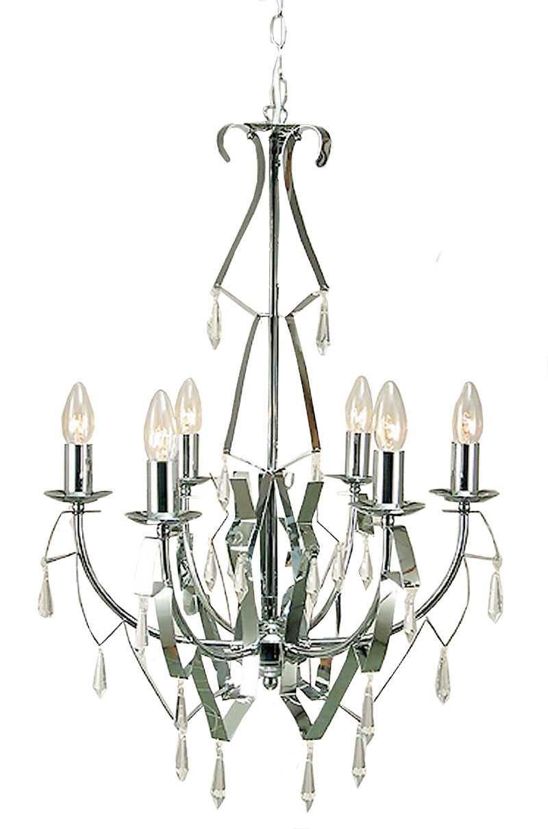 FUTURISTISK. Taklampa i metall med kantigt snitt, www.lamplagret.se, 2749 kr.