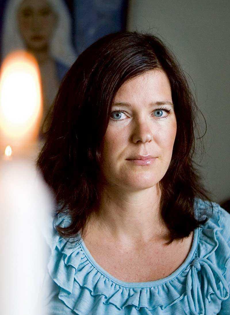 Erika Andreasson ser det som en stor gåva att hon kan hjälpa människor och visa att livet fortsätter efter döden.