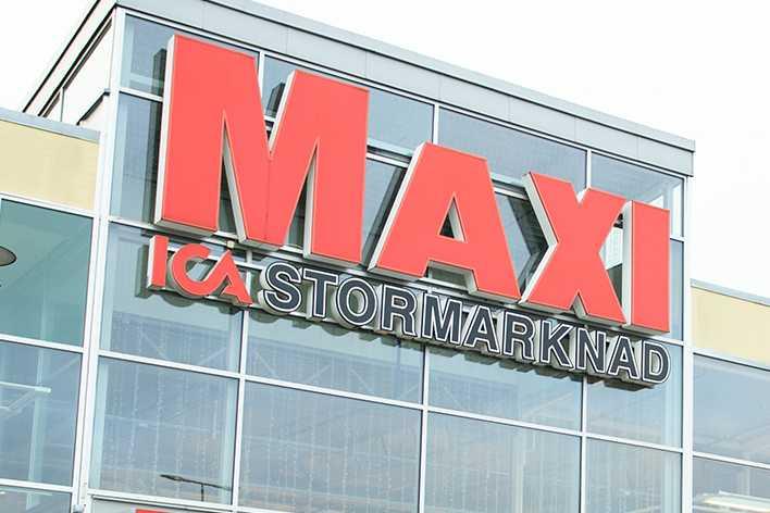 Det vinnande systemet lämnades in på Ica Maxi.