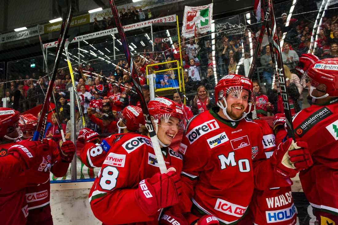 Modo slog Leksand i hockeyallsvenskan.