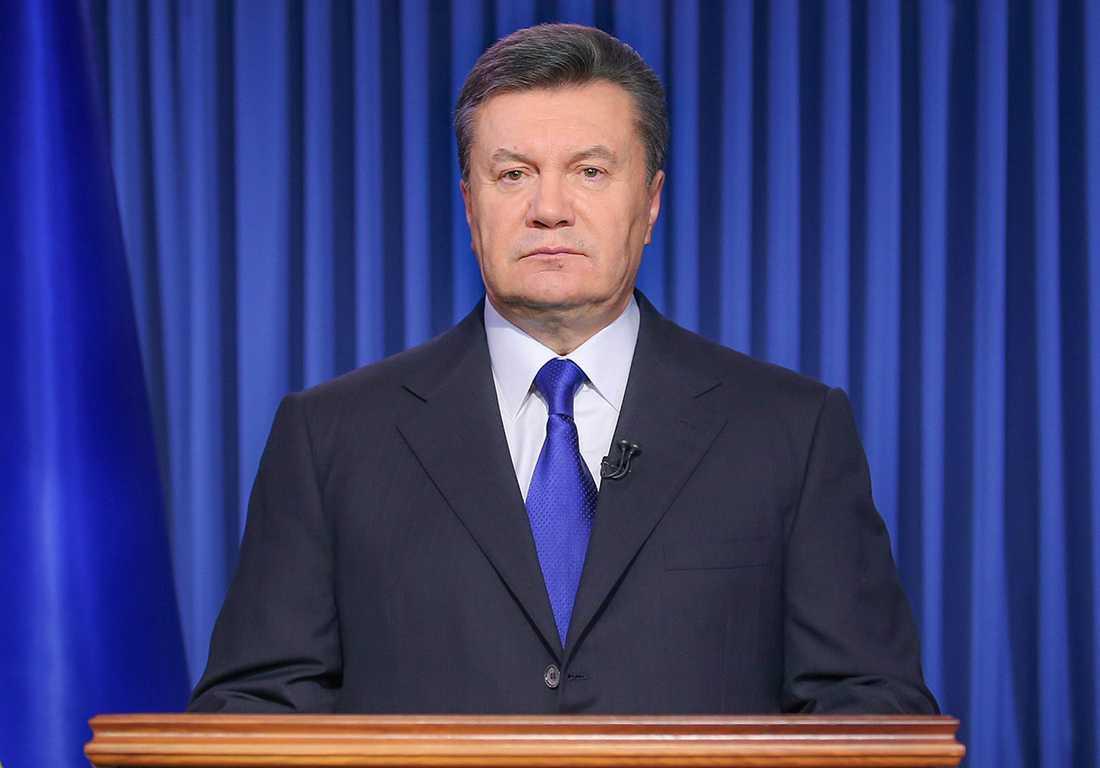 Ukrainas numera avsatte president Viktor Janukovytj.