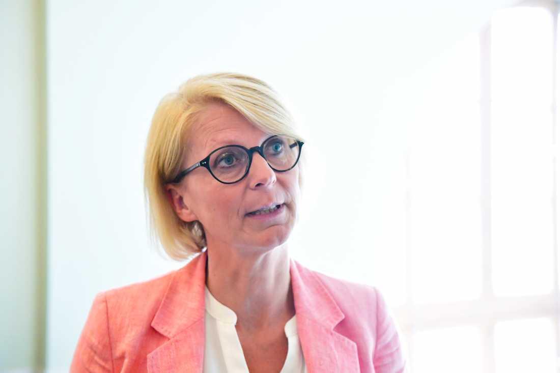 Moderaternas ekonomisk-politiska talesperson, Elisabeth Svantesson. Arkivbild.