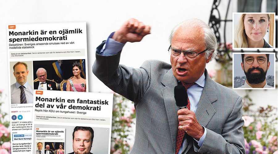 Monarkin är en i grunden konservativ institution. Den har motarbetat utvecklingen av den svenska demokratin på alla sätt den har kunnat, skriver Lisa Bjurwald och Aza Cheragwandi.