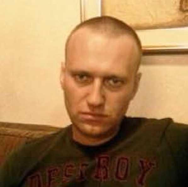 Aleksej Navalnyj i fängelset. Bilden publicerades 15 mars på hans Instagram-konto.