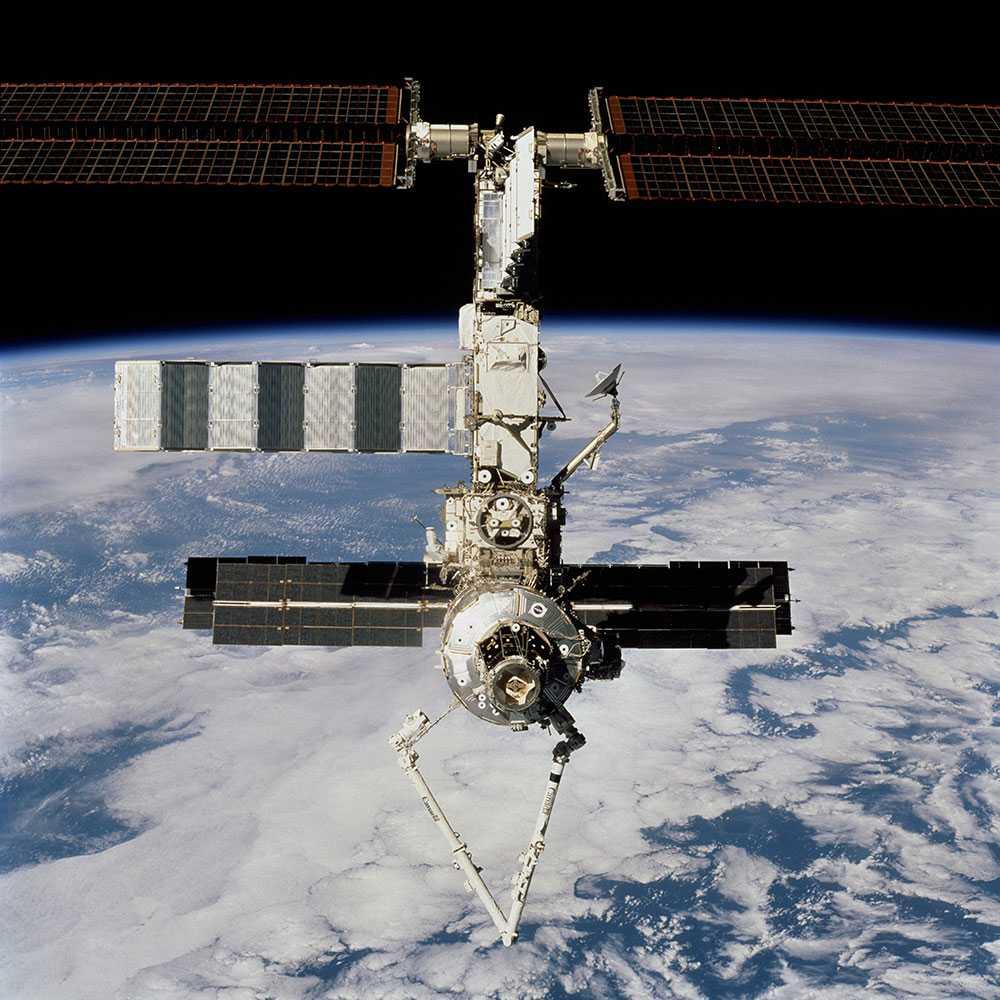 Arkivbild på ISS.