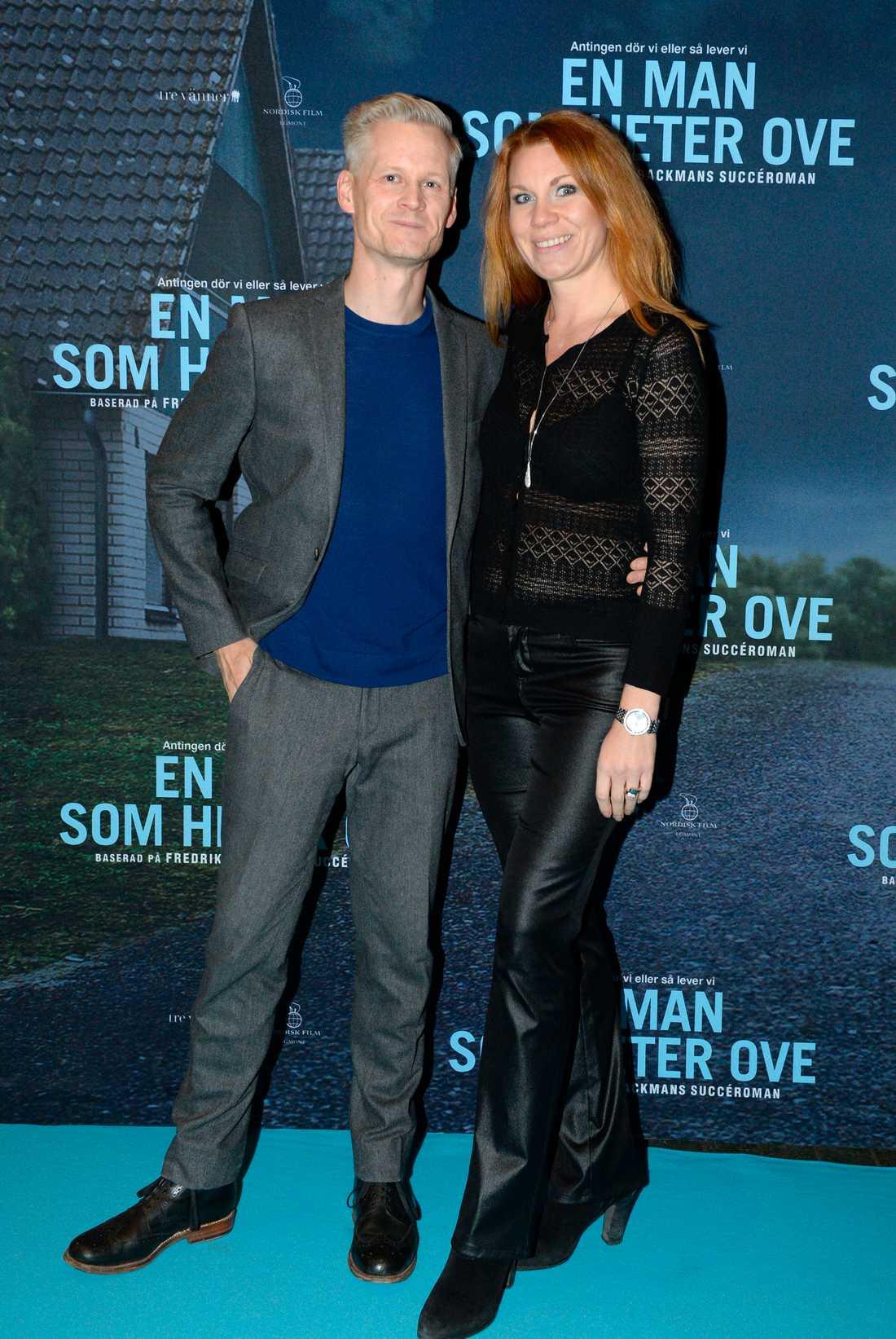 Henrik Fexéus och Linda Ingelman.