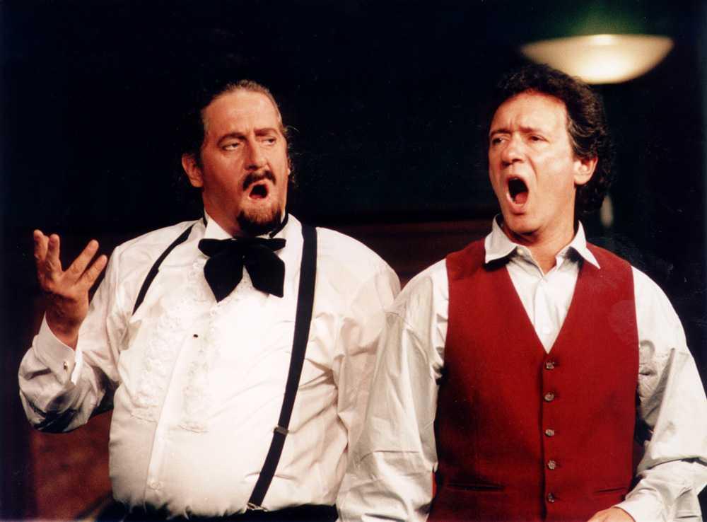 1996 Panik på operan. Pjäs på Lisebergsteatern tillsammans med Ulf Dohlsten.