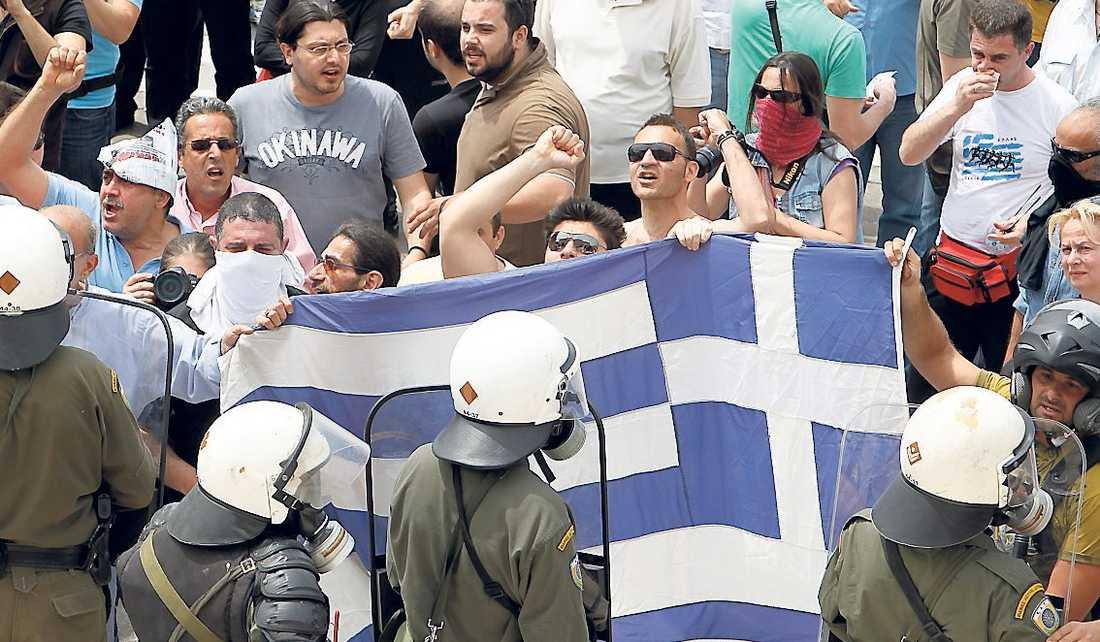 Greklands ekonomiska slarv påverkar aktiehandeln över hela världen.