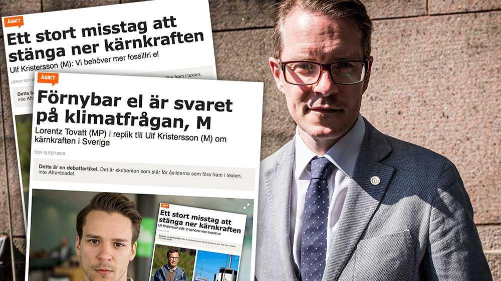 Sveriges elproduktion hör till världens mest klimatvänliga, den är till 98 procent fossilfri. Men med regeringens politik gör sig Sverige beroende av andra länders betydligt smutsigare el – ofta producerad av kol och olja, skriver Lars Hjälmered, näringspolitisk talesperson (M).