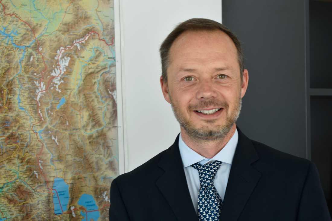 Mario Mariani är samarbetschef på EU-kommissionens kontor i Albanien och hoppfull om landets utveckling mot EU-medlemskap.