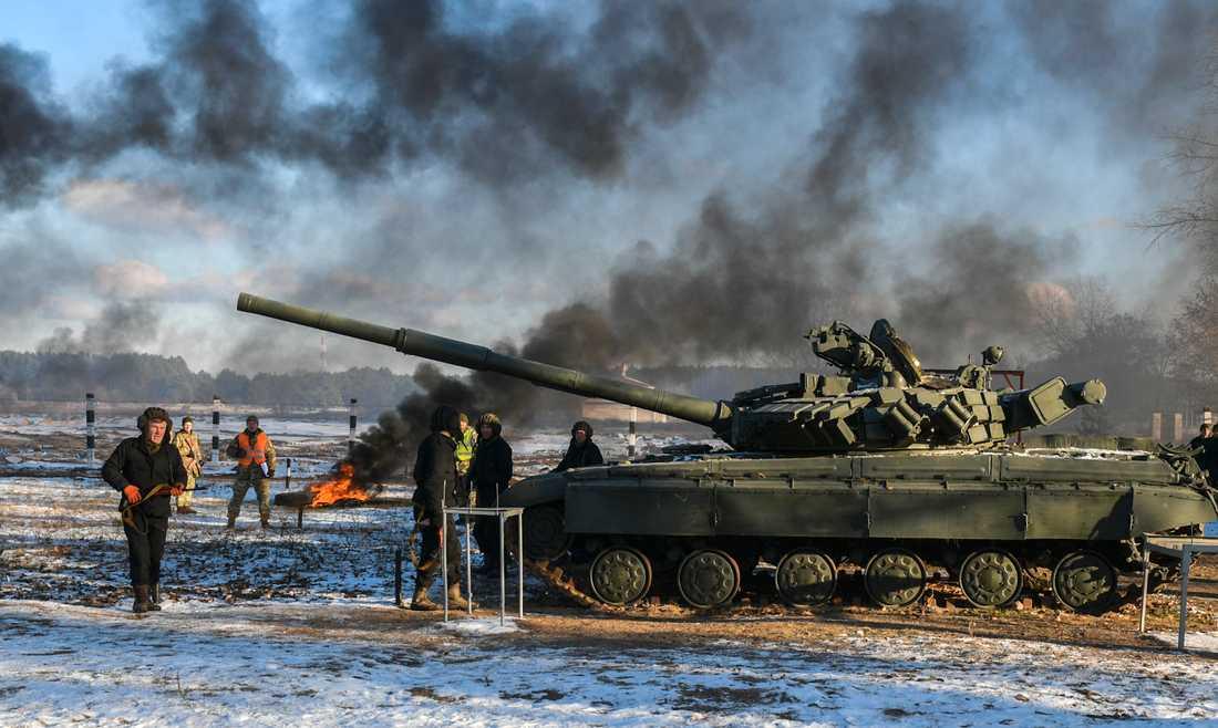 Kriget i östra Ukraina, och Rysslands annektering av Krim, har fått opinionen i landet att skifta, enligt forskningsledaren Jakob Hedenskog. Arkvibild.