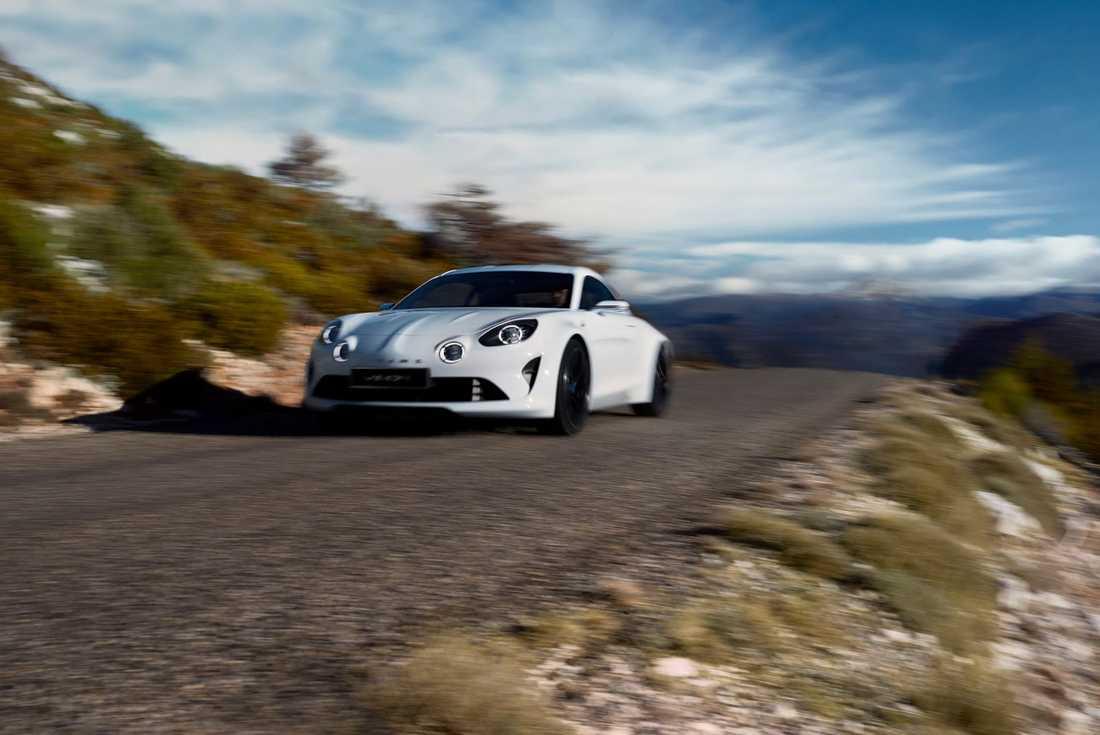 Konceptet Alpine Vision visades i mars och ser onekligen ut att vara mycket produktionsnära.