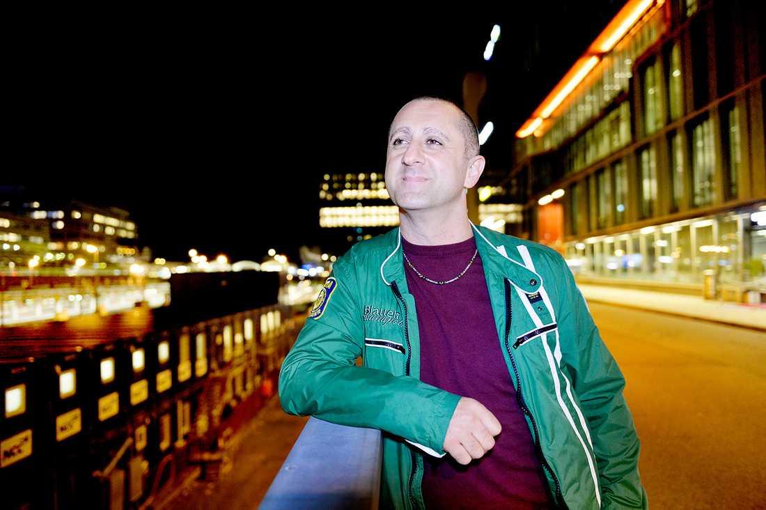 """""""Det var både tårar och skratt"""", säger Samir till Aftonbladet."""