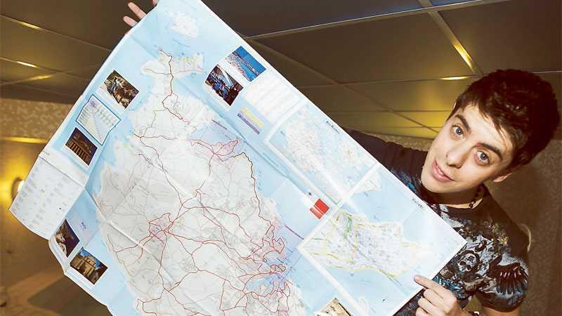 Sätter Malta på kartan Kevin Borg kan sitt Malta – och följde förstås med på premiärplanet på nya Maltalinjen i veckan.