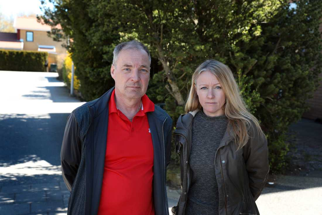 Fotograf, Krister Hansson och reporter, Sanna Nygren.