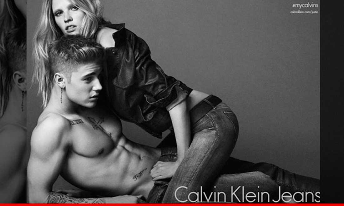 Justin Bieber och Lara Stone skapade en twitterstorm.