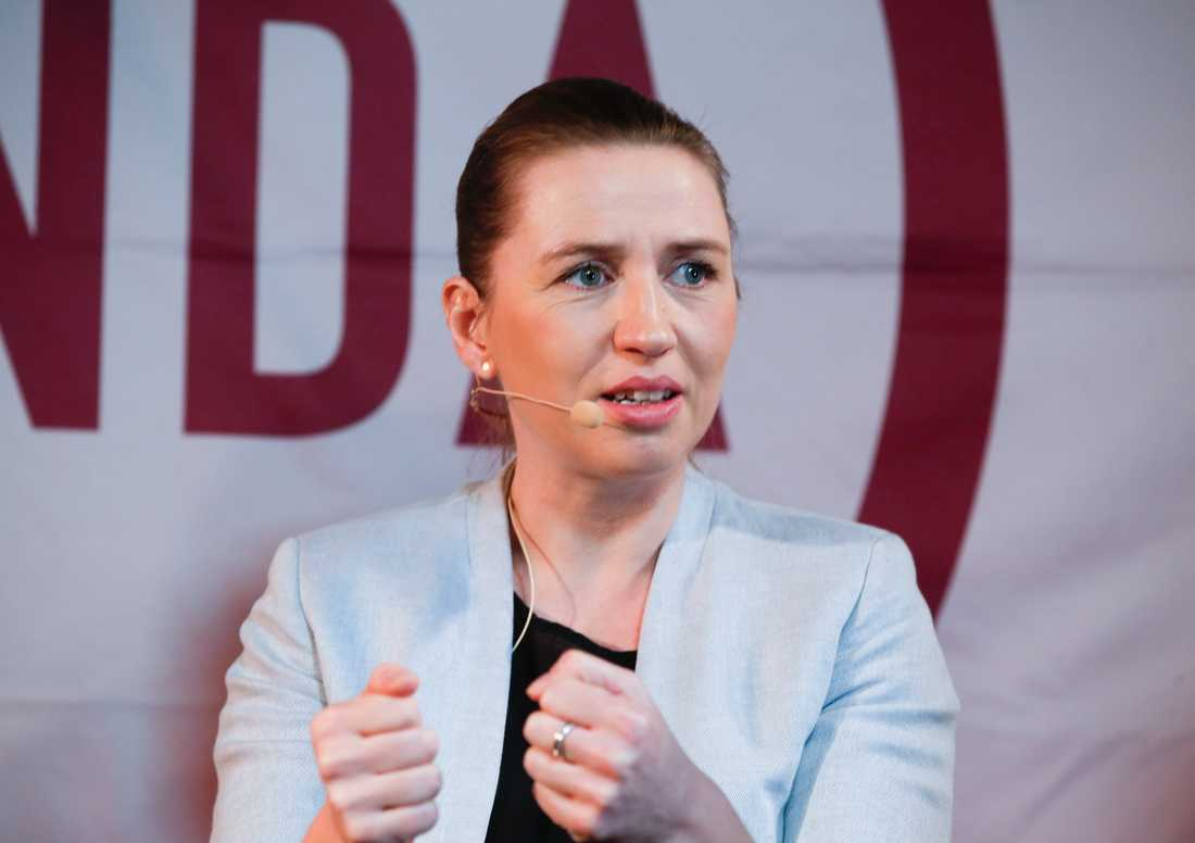 Danmarks statsminister Mette Fredriksen.