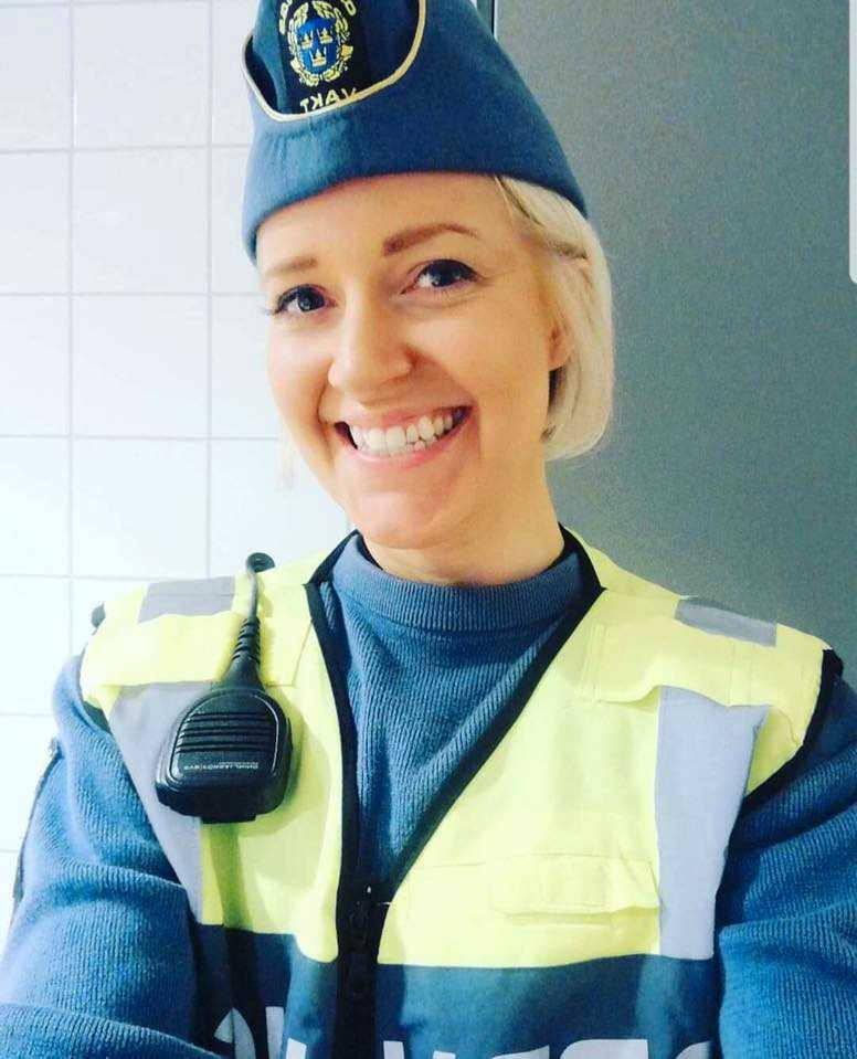 Tidigare ordningsvakten Jenny Bengtsson.