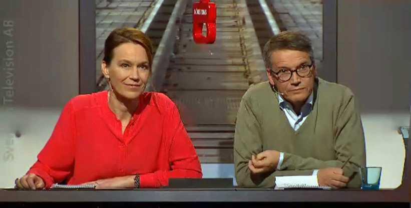 Olivia Wigzell och Göran Hägglund.