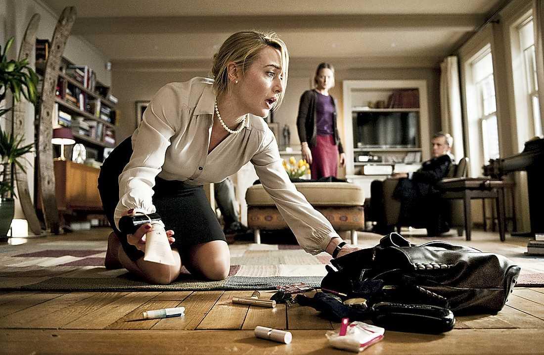 "Scen ur Roman Polanskis film ""Carnage""."