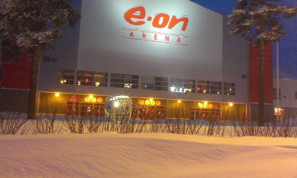 E-on arena i Timrå.