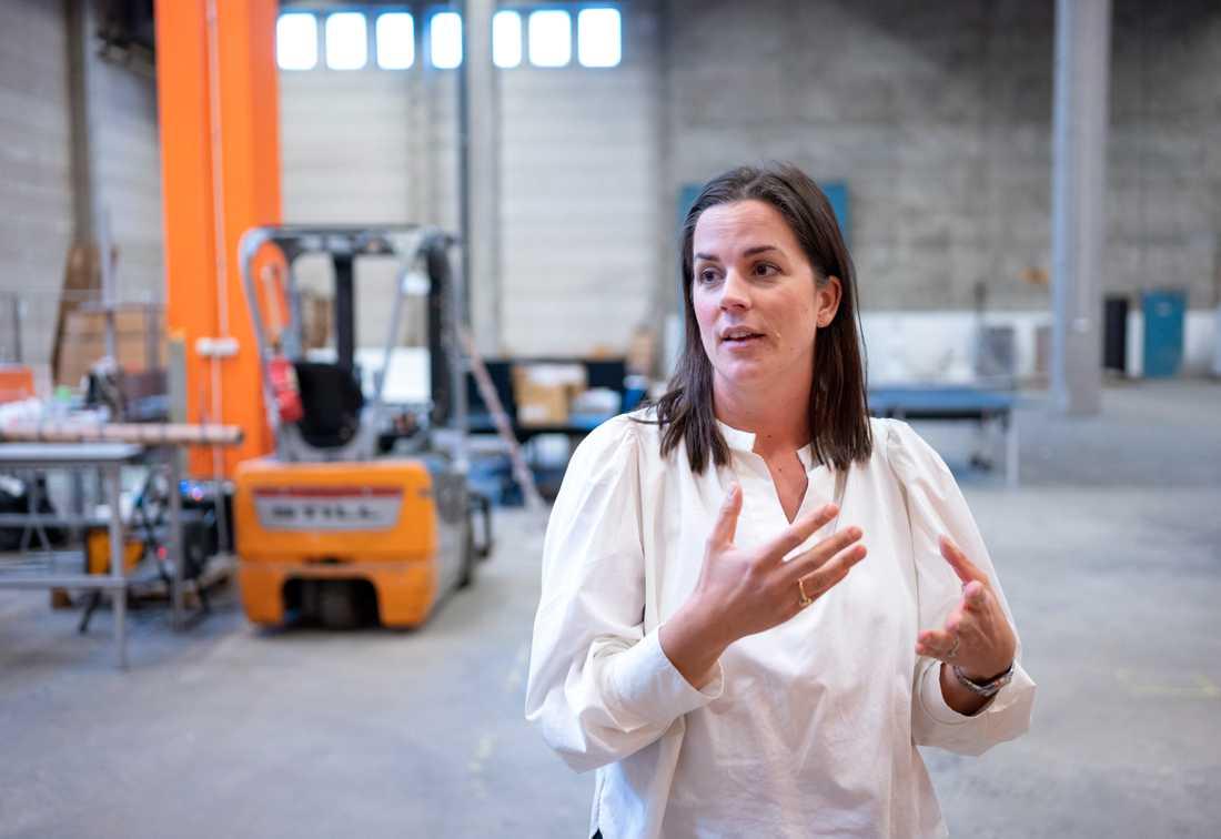Kajsa Knapp är vd för e-handelsföretaget Coolstuff, som även har en fysisk butik i Malmö, med kunder i flera länder i Europa.
