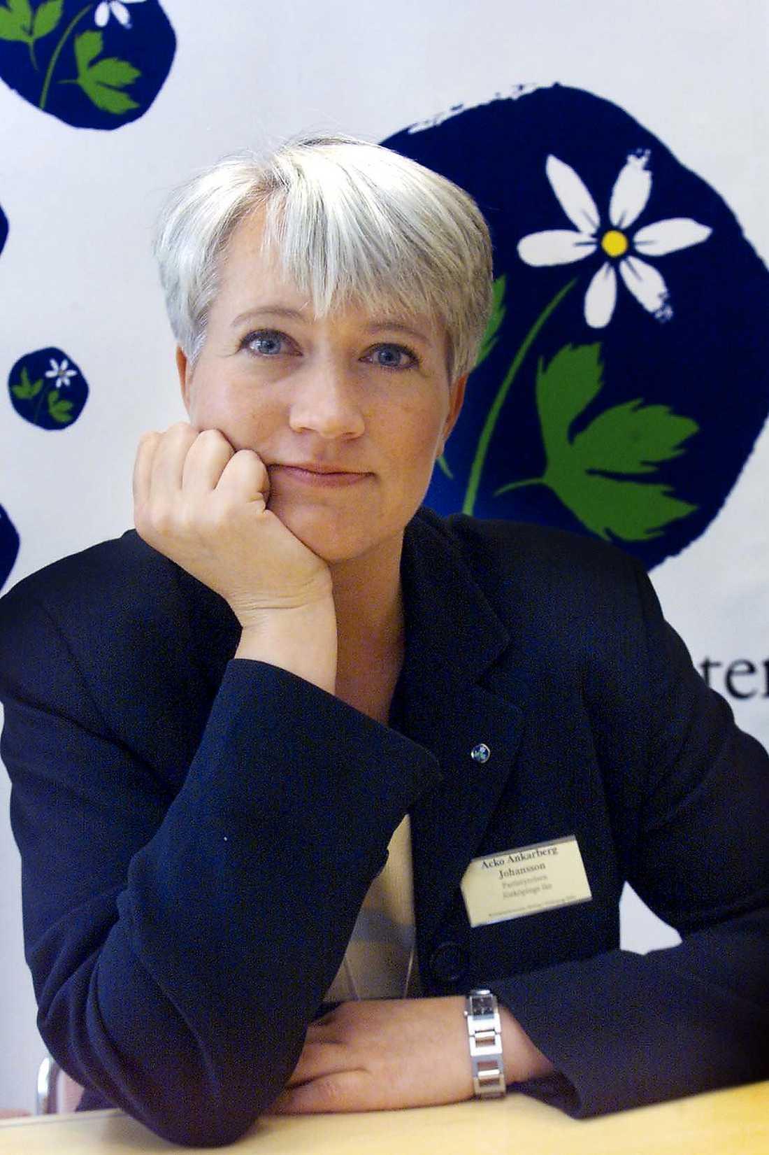 Acko Ankarberg Johansson Position inom KD: Partisekreterare. Status: Har hittills varit tydlig med att hon inte vill bli ny partiledare.