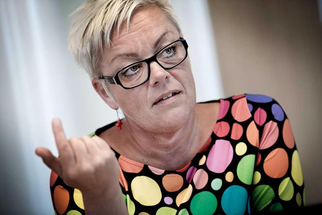 Anette Andersson, kommunens samordnare mot våldsbejakande extremism.