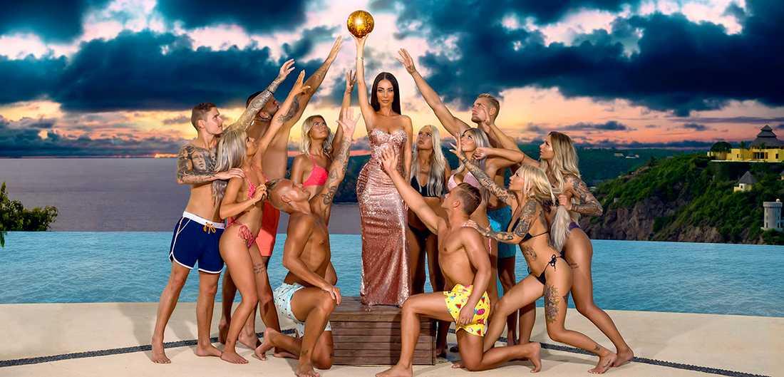 """Till och med i reality-serien """"Paradise hotel"""" blickar bakåt, och slänger in gamla deltagare i leken."""