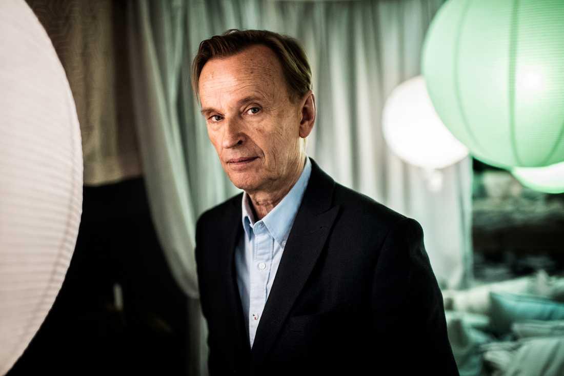 """Johan Ulveson under inspelningen av andra säsongen av tv-serien """"Älska mig""""."""
