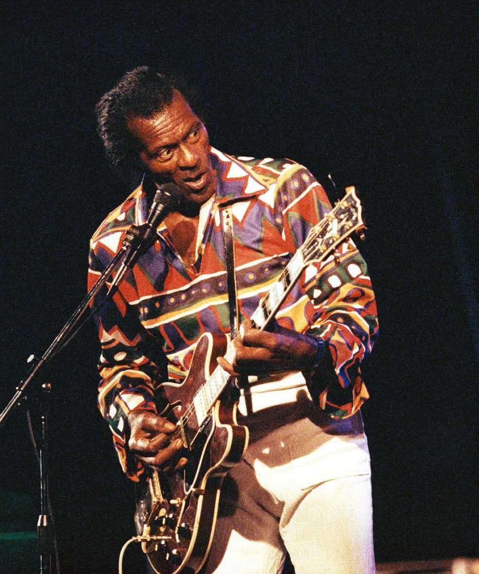 Chuck Berry i Orsa 1990.