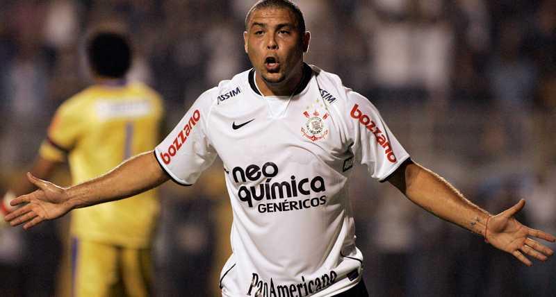 Corinthians blev slutstationen för Ronaldo.