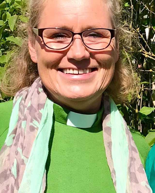 Diakonen Mia Snecker arbetar i Svenska kyrkan i Åhus.