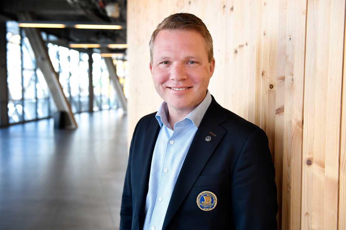Ordförande Anders Larsson.