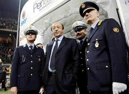 BLAND DE MÄKTIGASTE I ITALIEN Luciano Moggi har en lång och skandalomsusad karriär i flera av Italiens fotbollsklubbar.