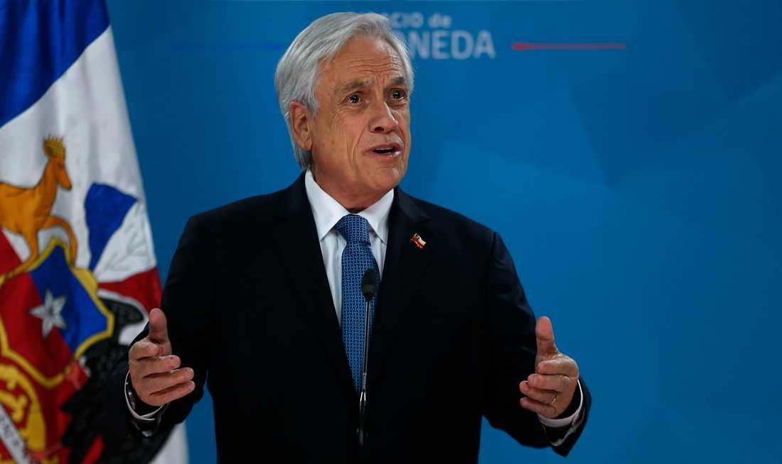 Chiles president Sebastián Piñera.