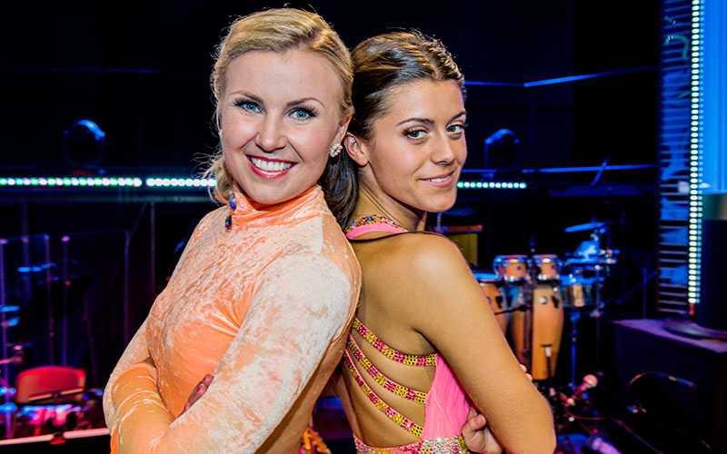 Sångaren Elisa Lindström och bloggaren Bianca Ingrosso gör upp om segern i Let's dance.
