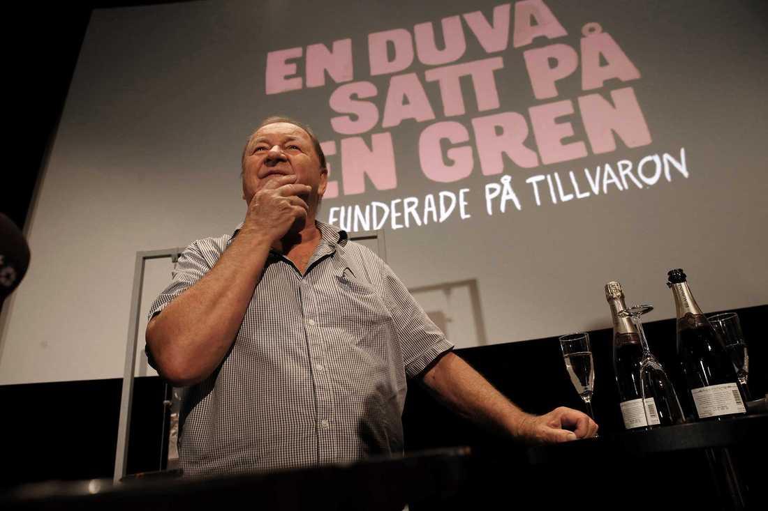 Roy Andersson har skäl att fira.