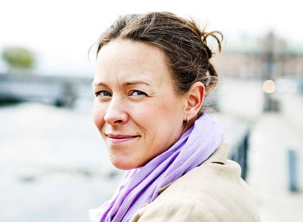 Maria Wetterstrand, tidigare språkrör.