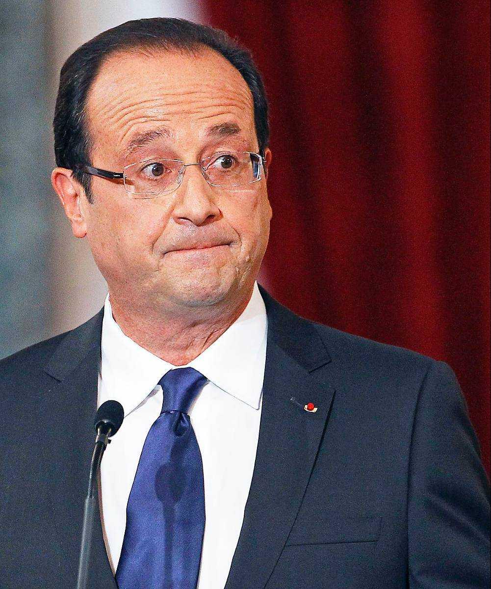 François Hollande har varit Frankrikes president sedan den 15 maj 2012.