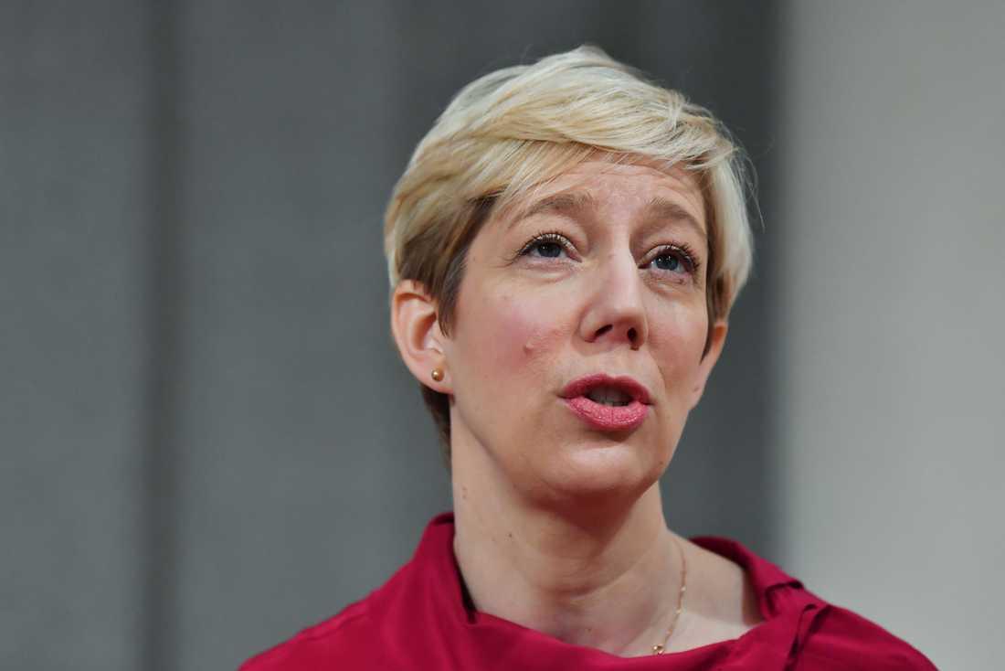 Anna Breman, vice riksbankschef, har efter reservationen mot räntehöjningen i december anslutit sig till majoriteten i direktionen. Arkivbild.